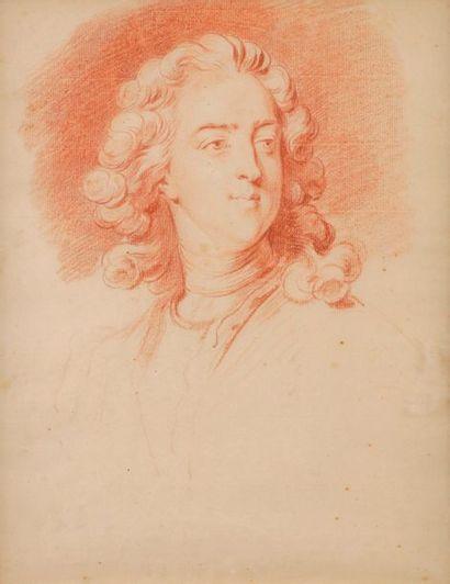 Jean-Baptiste MASSÉ (Paris 1687 - 1767) Portrait...