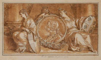 Jean-Michel MOREAU Le Jeune (Paris 1741 -...