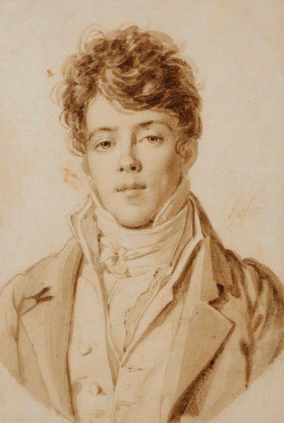Alexandre HESSE (Paris 1806 - 1879) Portrait...