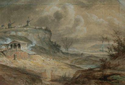 Entourage de Georges MICHEL (Paris 1763 -...