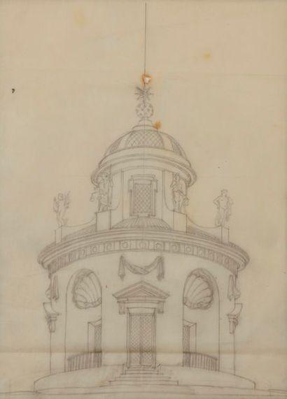 Emilio TERRY (Cuba 1890 - Paris 1969) Projet...