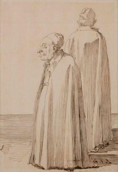 Pier Leon GHEZZI (Rome 1674 - 1755) Le Père...