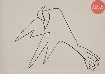 Roberto ALTMANN [cubain] (né en 1942) L'oiseau,...