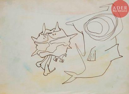 Roberto ALTMANN [cubain] (né en 1942) Requin,...