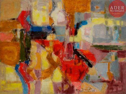 Constantin ANDREOU [franco-brésilien] (1917-2007)...