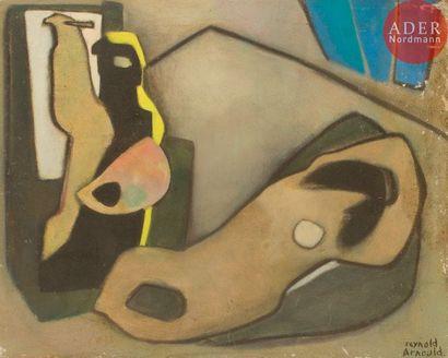 Reynold ARNOULD (1919-1980) Le Peintre et...