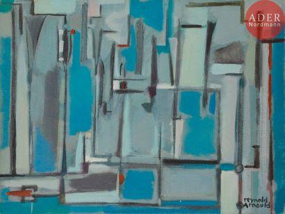 Reynold ARNOULD (1919-1980) Composition Huile...