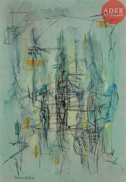 Francis BOTT (1904-1998) Composition, 1954...