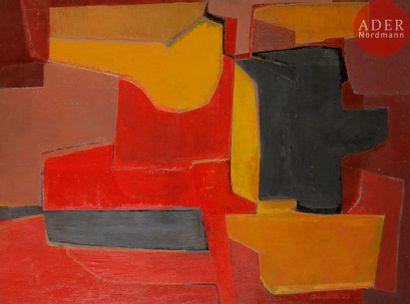 Marcel BOUQUETON (1921-2006) Composition,...
