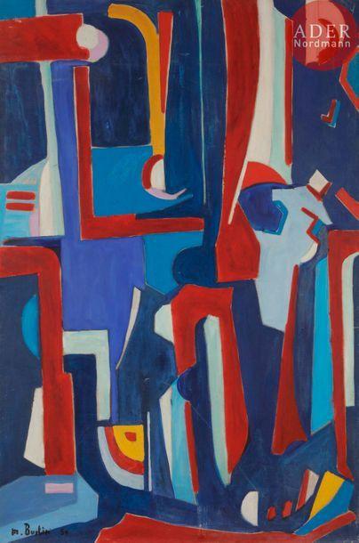 Marcel BURTIN (1902-1979) Composition, 1950...