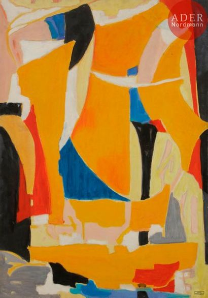 Marcel BURTIN (1902-1979) Composition, vers...