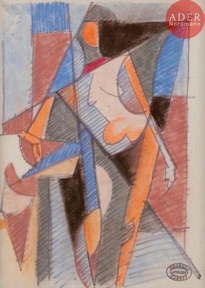 Georges CARREY (1902-1953) Composition Technique...