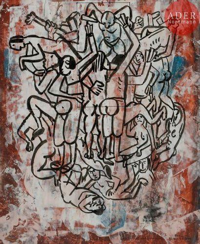 Roberto ALTMANN [cubain] (né en 1942) Scènes...