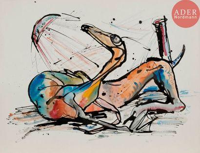 Roberto ALTMANN [cubain] (né en 1942) Compositions,...