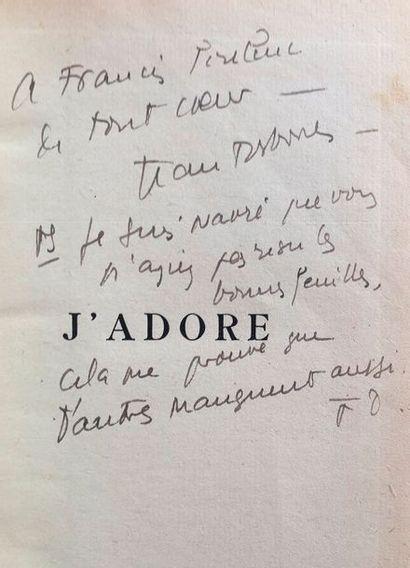 Jean COCTEAU. Le Mystère laïc (Giorgio De...