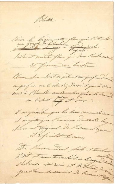 Louise COLET (1810-1876) femme de lettres,...
