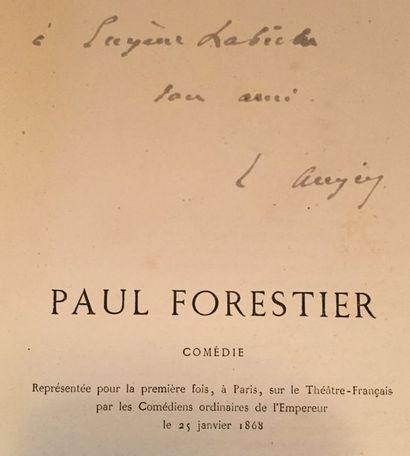 Émile AUGIER. Paul Forestier, comédie en...