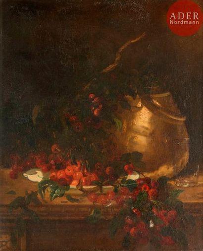 Antoine VOLLON (1833-1900) Nature morte,...