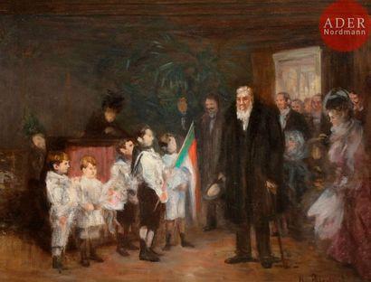Henri BRISPOT (1846-1928) La Réception de...