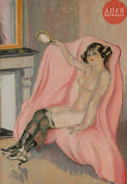 *Louis LEGRAND (1863-1951) La Jolie courtisane...