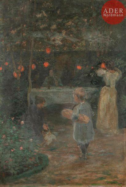 Émile Georges GIRAN (1870-1902) Le Soir,...
