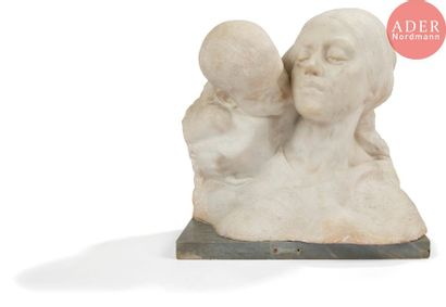 *Ezio CECCARELLI (1865-1927) Ave Maria Marbre...