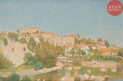 Maguy MONIER (1887-1965) Clisson, moulin...