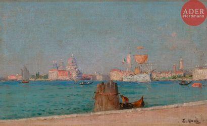 François NARDI (1861-1936) Venise, le Grand...