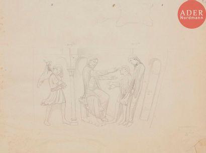Eugène VIOLLET-LE-DUC (1814-1879) Ensemble...