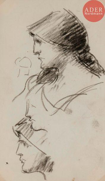 Jean-Jacques HENNER (1829-1905) Étude de...