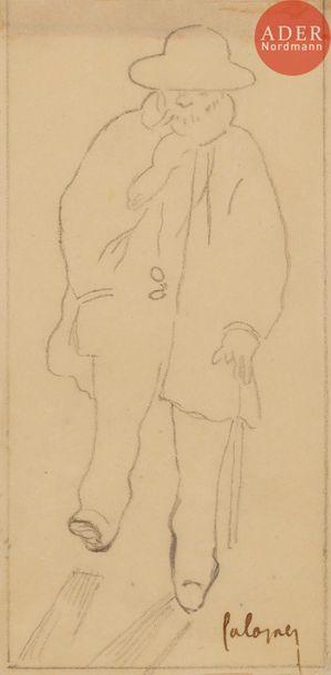 Frédéric Auguste CAZALS (1865-1941) Portrait...