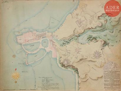 Louis-Pierre Baltard (1764-1846) Carte topographique...