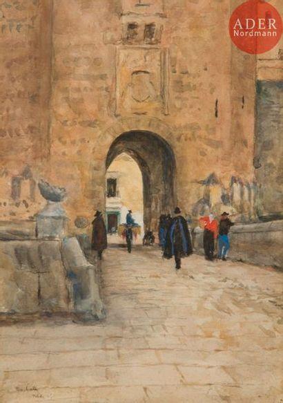 Siebe Johannes TEN CATE (1858-1908) Porte...