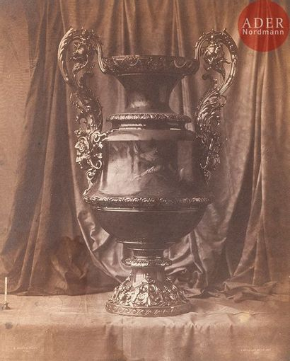 Louis Robert (1811-1882) Manufacture de Sèvres,...