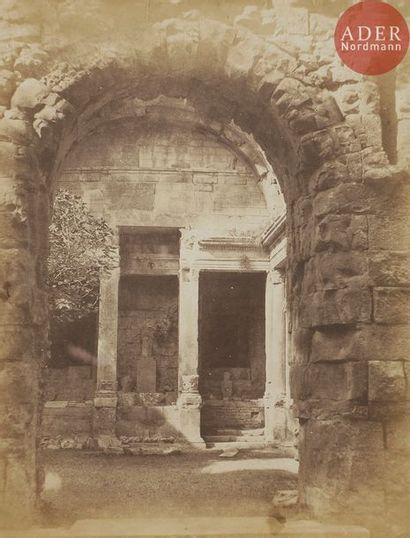Émile Pécarrère (1816-1904) Le temple de...
