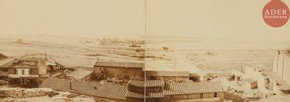 Édouard Baldus (1813-1889) Panorama de Marseille,...
