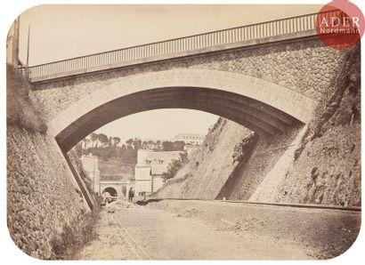Jules Duclos Ligne de chemin de fer, c. 1865....