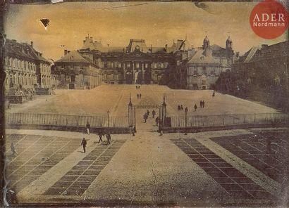 Photographe non identifié Château de Lunéville,...