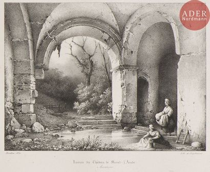 Charles Marie Bouton (1781-1853) Auvergne,...