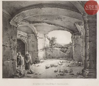Charles-Caïus Renoux (1795-1846) Ruines du...