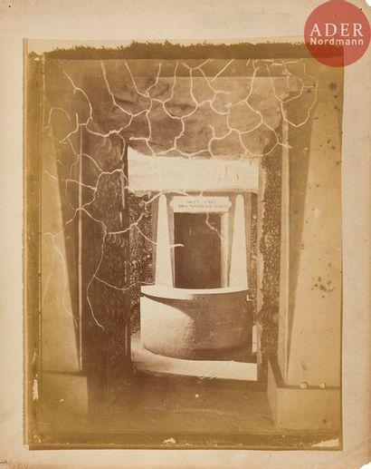 Félix Nadar (1820-1910) Les catacombes de...