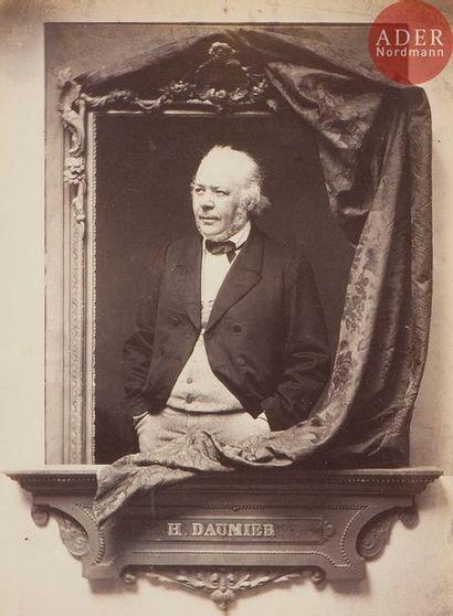 Adolphe Dallemagne (1811-1882) Honoré Daumier....