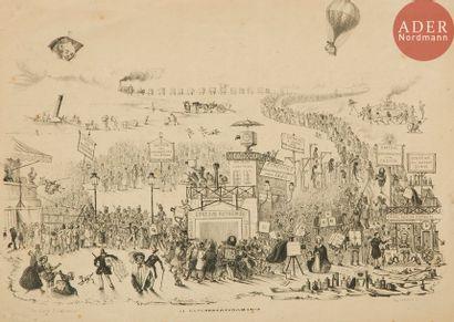 Théodore Maurisset (1803-1860) La daguerréotypomanie,...