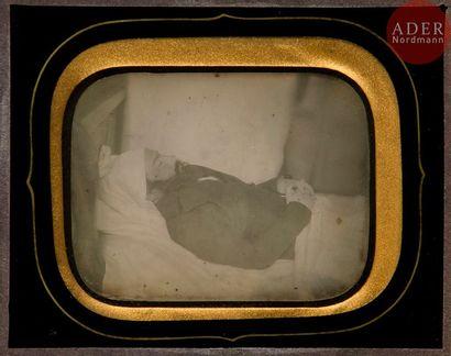 Daguerréotypiste non identifié Post mortem,...