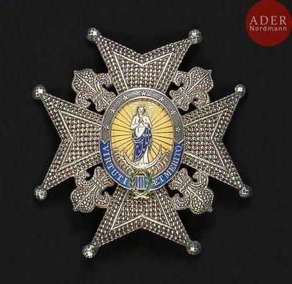 ESPAGNE ORDRE DE CHARLES III, créé en 1771....