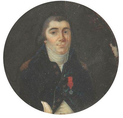 [Pierre-Denis de LA CHASTRE (1763-1820) officier...