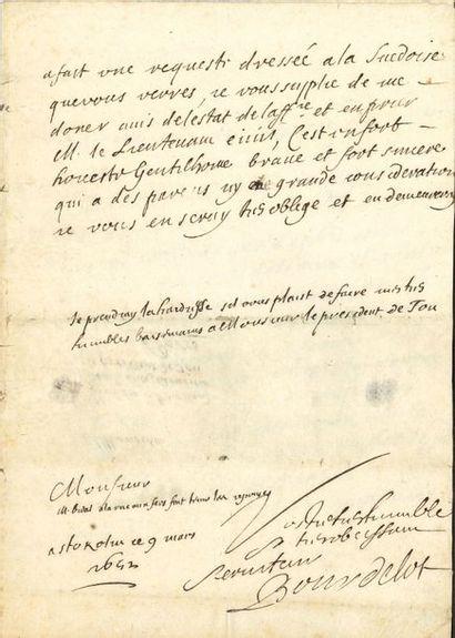 Pierre Michon BOURDELOT (1610-1685) médecin...