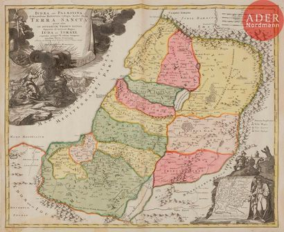 [TERRE SAINTE] Carte de la Terre Sainte et...