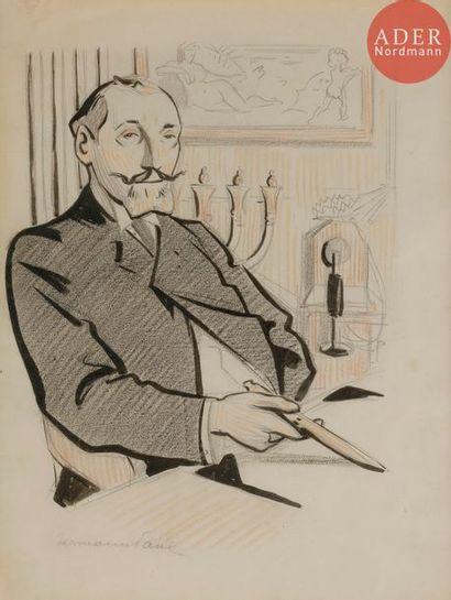 HERMANN-PAUL (1864-1940) MONSIEUR NEDBOIS,...