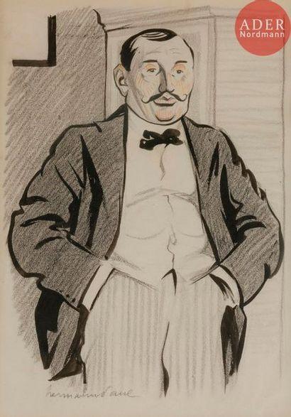 HERMANN-PAUL (1864-1940) M ALFRED NEDBOIS-MAXILLAIRE,...